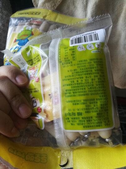 小火车Thomas 韩国进口  零食鱼肠 儿童肠 宝宝鱼肉火腿肠 奶酪鳕鱼肠两联包 105g*2 晒单图
