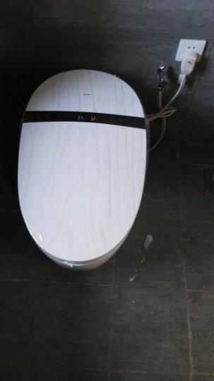 希箭/HOROW 智能马桶一体式坐便器即热式无水箱全自动冲洗烘干坐便器 S5子母座圈脚感冲水300坑距 晒单图