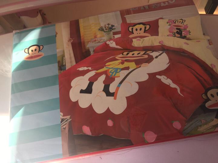 大嘴猴PaulFrank 床上四件套家纺 纯棉卡通大嘴猴印花双人床单被套组合全棉床上用品套装 齐天大圣 1.5m床/1.8m床【适合200×230被子】 晒单图