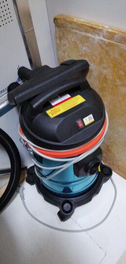 杰诺 吸尘器家用小型大功率干湿吹两用15升 加强水过滤款 晒单图
