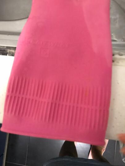 克林莱韩国进口手套 橡胶手套 清洁手套 家务手套 洗碗手套 mini小号CR-4 晒单图