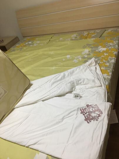罗莱家纺 LUOLAI 被芯 100%桑蚕丝被 四季通用 婚庆喜被 全棉面料 永结同芯桑蚕丝春秋被 1.5米床 200*230cm 晒单图