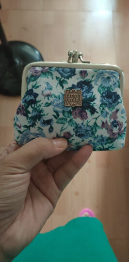 欧时纳 可爱小碎花金属扣零钱袋 颜色随机 110001 晒单图