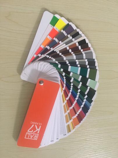 新版正品劳尔色卡K7 RAL国际通用标准 油漆涂料工业等各行业 经典213色 德国原装 晒单图