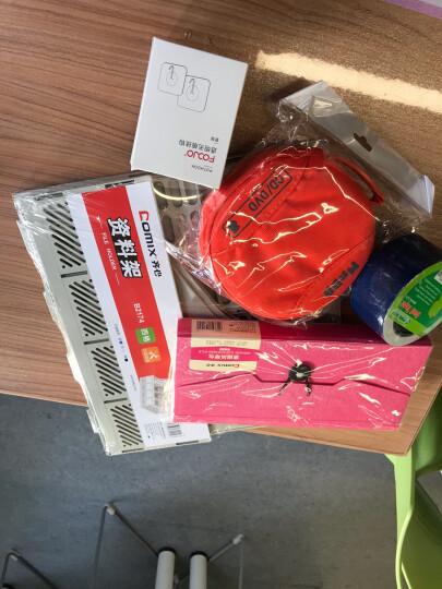 铭大金碟(MNDA)时尚防水光盘专用24片装CD/DVD光盘收纳包 橙色 晒单图