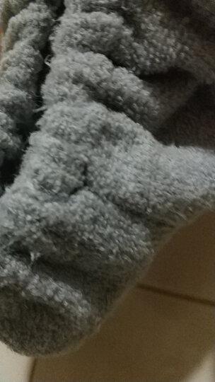 三利 超柔麋鹿角耳朵束发带 卖萌可爱头饰头巾发箍 洗脸化妆敷面膜发套 灰色 晒单图