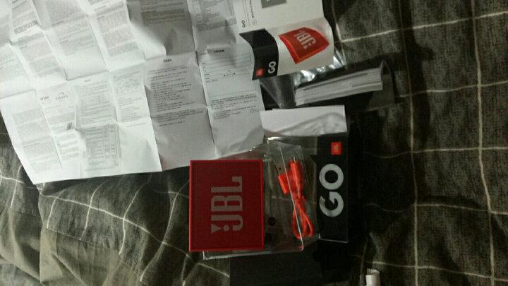 JBL GO 音乐金砖 便携式蓝牙音箱 低音炮 户外音箱 迷你小音响 可免提通话 魂动红 晒单图