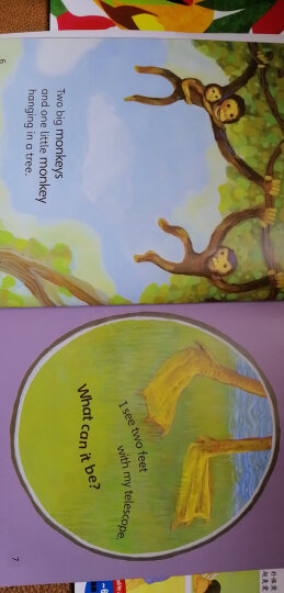 丽声我的第一套亲子英文绘本(5-6岁上 点读版 套装共6册 附光盘) 晒单图