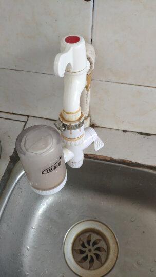 【送原装滤芯2支】安之星AZX-JSQ-03水龙头净水器 家用自来水过滤器净水机 一机三芯 晒单图