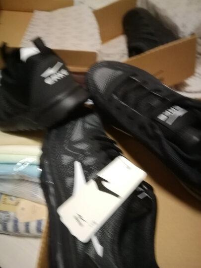鸿星尔克ERKE跑鞋新款情侣款全掌气垫减震运动慢跑鞋女款52116120028正黑/三角梅红37码 晒单图