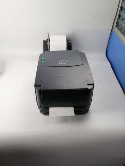 TSC 244PRO条码标签打印机服装吊牌合格证洗水布贴纸超市商品价格标签物流发货不干胶打印机 晒单图