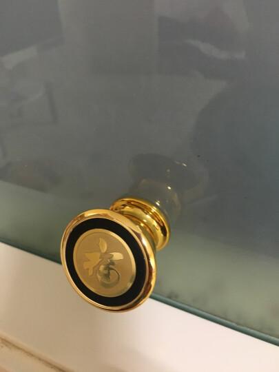 车载手机支架创意磁铁导航支架仪表台多功能汽车用磁性手机座 强力磁吸360度旋转 福字金标 法拉利1 晒单图