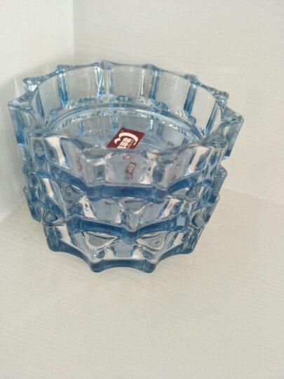 青苹果蓝色玻璃烟缸 LG1004 晒单图