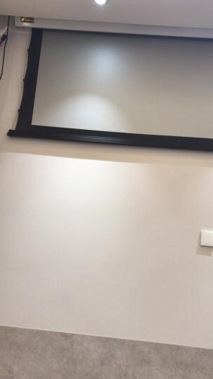 图迈(tobuy)TSY投影幕布100、120、150、200英寸电动投影仪遥控金属抗光幕布 TDM进口玻纤/拉线 250英寸/送货楼下(需订做) 晒单图