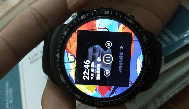 鸣动 智能手表电话手表手机多功能男女学生成人支持wifi蓝牙插卡GPS定位导航手表四核cpu X08可扩容版星空黑-自带8G+可扩容32G 晒单图