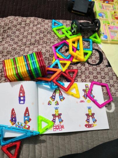 铭塔88件套磁力片积木玩具 儿童男孩女孩拼装磁性棒百变提拉建构片 吸铁石哒哒搭智力收纳盒装 晒单图