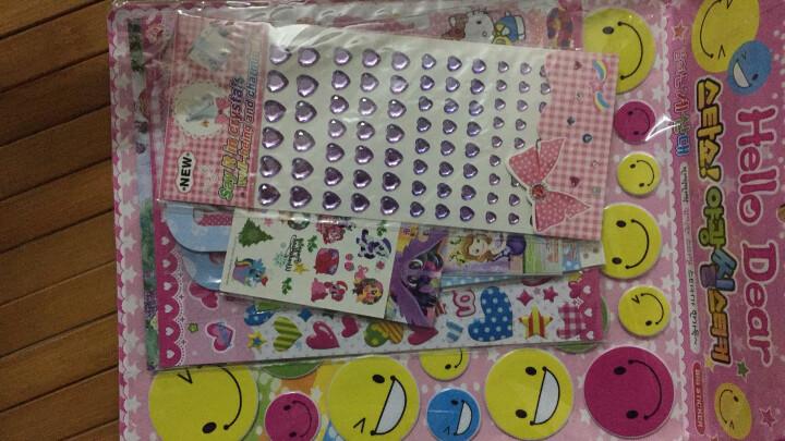 阳光男孩 儿童贴纸立体卡通贴纸PVC材质卡通动物人物粘贴画 笑脸(长38) 晒单图