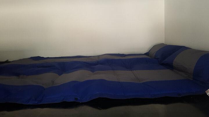 TrackMan 自游人 自动充气防潮垫 气垫床 帐篷充气垫充气床双人防潮垫帐篷垫子 5CM加厚蓝 192*132*3cm 晒单图