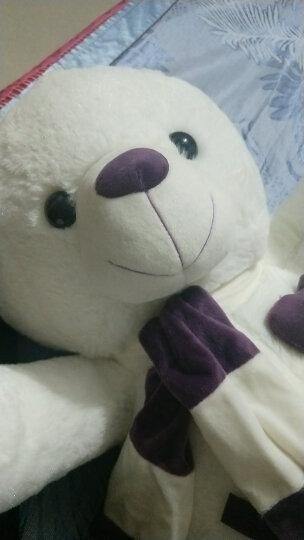 爱尚熊泰迪熊猫公仔毛绒玩具狗熊抱抱靠枕玩偶女生玩具女孩生日礼物送女友老婆80cm开心每一天 晒单图
