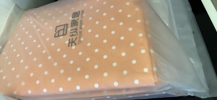 天纵防尘罩可水洗布艺大衣罩 可视西装套加厚衣物防尘套 香雪海 60*100 晒单图