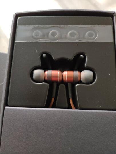 酷狗(KUGOU)小酷M1无线运动蓝牙耳机 霍尔磁吸开关 入耳式 安卓苹果手机耳机 IPX4级防水 续航10h 咖啡金 晒单图