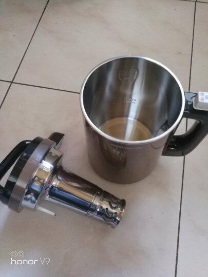 九阳(Joyoung)豆浆机1.1-1.3L破壁免滤双层彩钢机身占地小米糊家用多功能搅拌机料理机DJ13B-C650SG 晒单图
