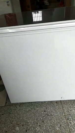 海尔(Haier)BC/BD-202HLG 202升彩晶钢化玻璃面板低霜科技 家用冷藏冷冻转换冰柜 晒单图