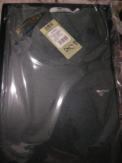 七匹狼保暖内衣 男士保暖套装加绒加厚秋衣秋裤男冬季内衣 98121 浅灰色 L 晒单图