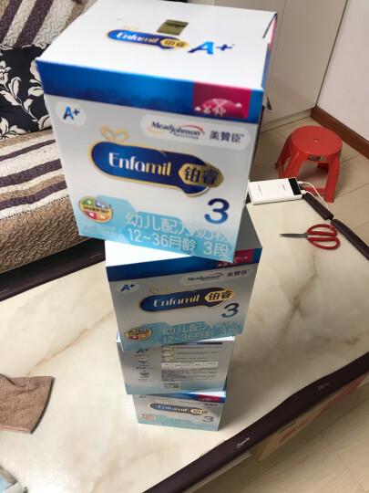 美赞臣(MeadJohnson)安儿宝A+幼儿配方奶粉 3段(12-36月) 960克(罐装)(新旧包装随机发货) 晒单图