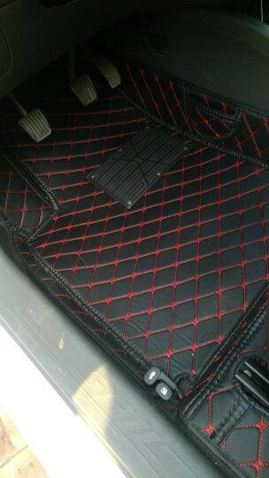 正百全包围汽车脚垫大包围专用无味包门槛双层新老款经典 黑红+黑红适用于 大众新帕萨特b5领驭 晒单图