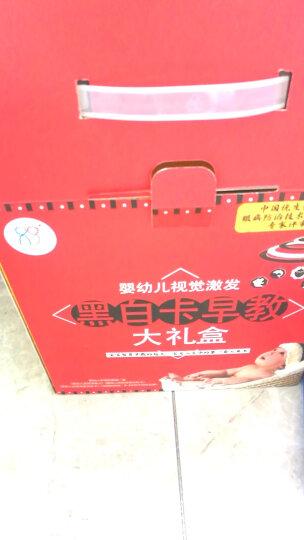 海润阳光·宝宝视觉激发·经典版:(套装共4盒)新生婴儿黑白卡片婴儿早教闪卡 宝宝视觉追视大卡 彩色卡 晒单图