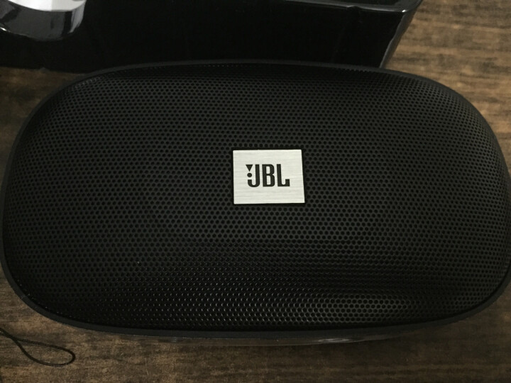 JBL SD-18 BLU 无线蓝牙音箱 迷你便携式插卡音响  老人老年人FM收音机播放器唱戏机 可连U盘TF卡 蓝色 晒单图