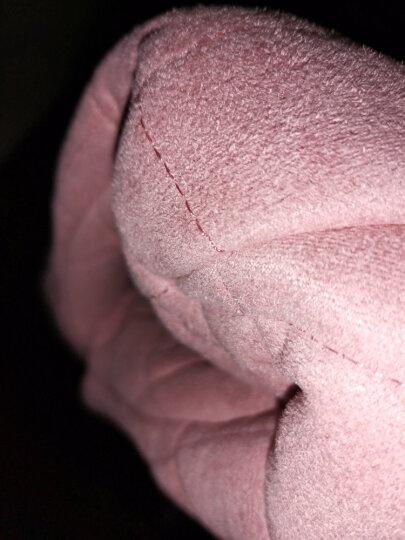 甜妹子睡衣女秋冬纯棉休闲翻领睡衣女士春秋长袖长裤家居服套装 T6561 L-165 晒单图