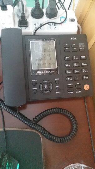TCL 录音电话机 固定座机 办公家用 插卡自动手动录音 电脑备份 客服呼叫中心 88超级版(铁灰) 晒单图