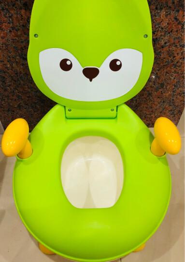 世纪宝贝(babyhood)儿童马桶宝宝坐便器婴儿便盆 幼儿男女小孩尿盆 湖蓝色 BH-114 晒单图