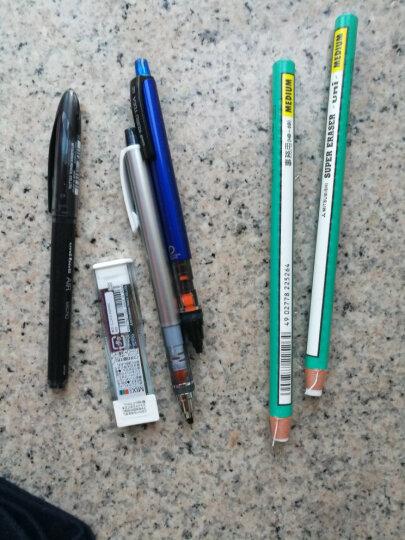 联新办公日本UNI三菱M5-450自动铅笔 笔芯自动旋转 0.5mm学生活动铅笔  10色彩色杆 银灰色 晒单图