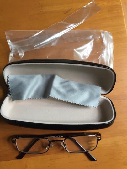 雷德蒙新款老人眼镜老花镜男树脂金属老花眼镜女眼睛时尚舒适老化眼镜老年人眼镜男女 咖啡150度 晒单图