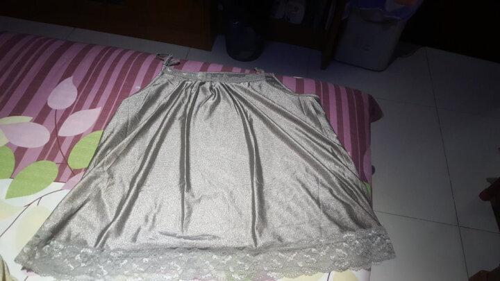 婧麒 JOYNCLEON 防辐射服吊带 孕妇装银纤维防辐射衣服 四季款 银灰色XL码 jc8201 晒单图