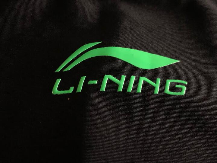 李宁(LI-NING)泳裤 男士专业及膝游泳裤 男士温泉五分游泳衣429 黑色 XXXL 晒单图