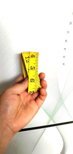 萌碎市尺软尺量衣尺裁衣皮尺三围尺米尺腰围胸围的量身尺子裁缝学生用家纺用品生活日用缝纫针织 300cm/英尺1个 晒单图