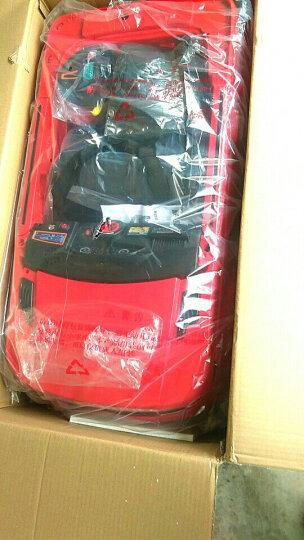 宝贝虎新款加长版118A儿童电动车四轮汽车可坐带遥控玩具宝宝电动车摇摆车 红色+拉杆+双电瓶+MP3插口+遥控 晒单图