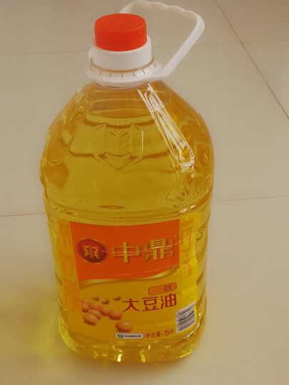 中鼎 一级大豆油 5L食用油 责任央企 中储粮出品 晒单图