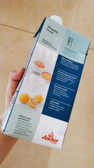 安佳(Anchor)超高温灭菌搅打淡奶油 稀奶油 1L 新西兰进口 烘焙原料 晒单图