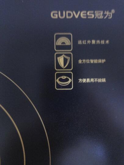 冠为(GUDVES)电陶炉家用电磁炉煮茶台式红外光波大功率不挑锅 单机 晒单图