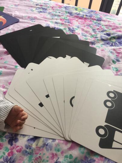 宝宝视觉激发·经典版:(套装共2盒)新生婴儿黑白卡片婴儿早教闪卡 宝宝视觉追视大卡 彩色卡 晒单图