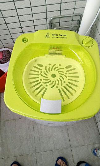 小鸭 T68-188 6.8kg脱水机 单筒甩干机 迷你甩干桶干衣机 抹茶绿 晒单图