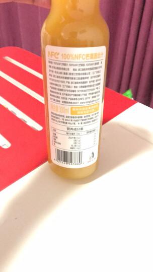 农夫山泉 NFC果汁饮料 100%NFC芒果混合汁300ml*24瓶 整箱装 晒单图