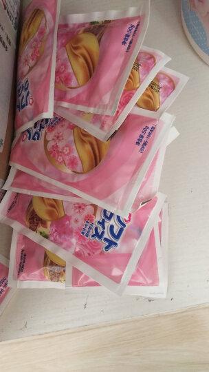 卫新清怡樱花衣物护理剂(柔顺剂)组合(樱花柔顺剂2kg×2+袋装柔顺剂50g×4)与洗衣液搭配使用 晒单图