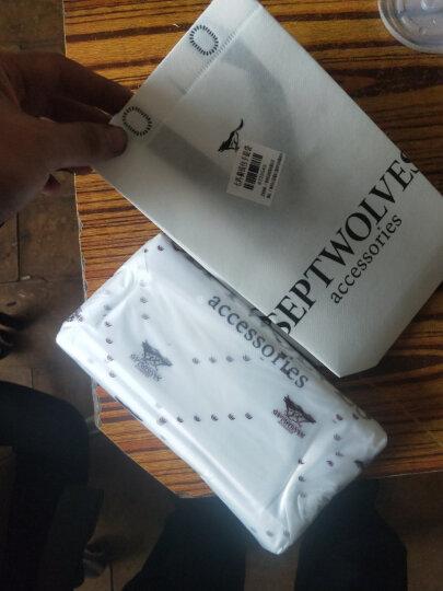 七匹狼男士长款钱包 头层牛皮时尚商务多功能包票夹 1A2154081-08 蓝色 晒单图