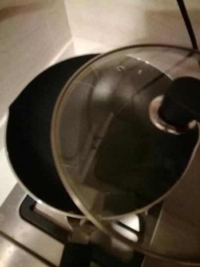 炊大皇平底锅不粘锅26cm少油烟深煎锅煎牛排煎饼煎蛋煎盘电磁炉燃气煤气灶明火通用锅具WG44587 晒单图